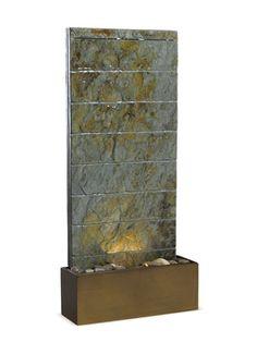 Hanska Indoor/Outdoor Floor/Wall Fountain from Garden Party Furniture & Accents on Gilt