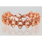 Bold and elegant chainmaille jewelry made in West Hollywood. Handcuff Jewelry, Chainmaille, West Hollywood, Handmade Shop, Jewelry Making, Wire, Bracelets, Gold, Shopping