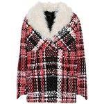 Rag & Bone Shearling-Trimmed Plaid Jacket