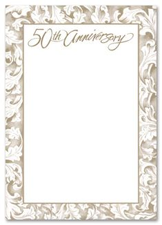 Free Printable Wedding Anniversary Invitations   The Wedding SpecialistsThe  Wedding Specialists  Print Your Own Anniversary Card