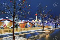 Christmas Fair In The Center Of Moscow, Red Square, Russia Stock Photo, Picture And Royalty Free Image. Image 34723391.