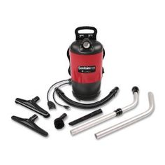 Sanitaire EURSC412B Backpack Lightweight Vacuum