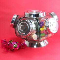 Vintage Style Revolving Candy Jar