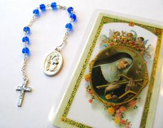 Chaplet of St Rita  Patroness of Impossible Dreams by RachelRode, $20.00