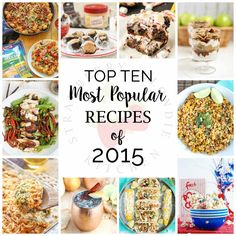These are the Top Ten Most Popular Recipes of 2015 from Strawberry Blondie Kitchen. I must say, you have have GREAT taste! Thank you for making my breakout Most Popular Recipes, Favorite Recipes, Good Food, Yummy Food, Most Delicious Recipe, Blondies, Top Ten, Pasta Recipes, Cooking Tips