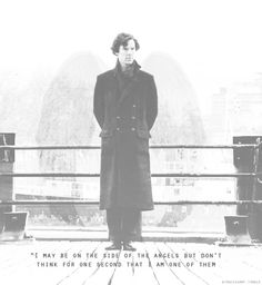 Sherlock is no angel Sherlock Holmes, Sherlock Fandom, Sherlock Quotes, Moriarty, Johnlock, Destiel, Drarry, Irene Adler, Hunger Games