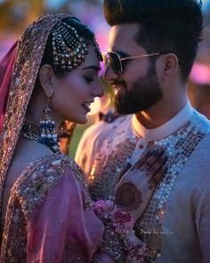 Cute Muslim Couples, Romantic Couples, Wedding Couples, Indian Bridesmaid Dresses, Wedding Dresses For Girls, Indian Wedding Photography Poses, Couple Photography Poses, Actress Wedding, Indian Bridal Photos