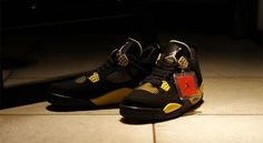 8693fd453e10b3 Air Jordan 4 Thunder - Nike keeps the re-releases coming with the Air Jordan  4 Thunder. These killer black and yellow shoes hark back to the original ...