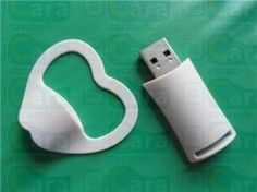 plastic clip book  shape USB flash disk promotional gifts 8GB www.carausb.com
