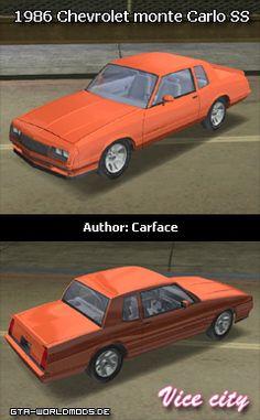 1986 Chevrolet monte Carlo SS v 1.5