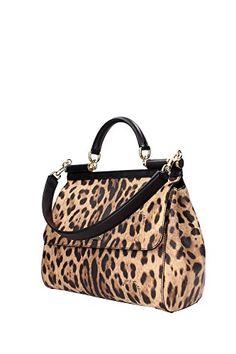 Borse a Mano Dolce&Gabbana Donna Tessuto Leopardato, Nero e Oro BB6158A71588S193 Marrone 14x25x33 cmEU in OFFERTA su www.kellieshop.com Scarpe, borse, accessori, intimo, gioielli e molto altro.. scopri migliaia di articoli firmati con prezzi in SALDO #kellieshop Seguici su Facebook > https://www.facebook.com/pages/Kellie-Shop/332713936876989