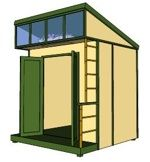 8x10 lean to shed plans 8x10 shed plans pinterest for Outdoor furniture 3d warehouse