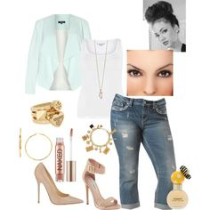 A fashion look from July 2014 featuring Steve Madden sandals, Jimmy Choo pumps and Tory Burch rings. Browse and shop related looks.