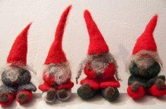 Tomtar felt family #gnomes #trolls