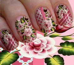 Nail Polish Designs, Nail Designs, Food Nail Art, Cute Spring Nails, Stamping Nail Art, More Cute, E Design, Flowers, Gratis Download