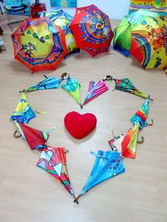 Les parapluies de la Saint-Valentin