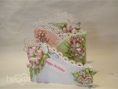Flowering Dogwood Fold Out Card and Flower making Tutorial - Heartfelt Creations