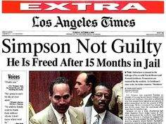 Probably one of the most shocking headlines (not the most important) in the 1990s. White people freaked out and black people cheered, and the nation realized just how far apart the races still were in how they saw things.