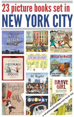 Children's books set in New York City. These would be good to read for the anniversary of 9/11, too.