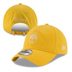 Golden State Warriors New Era  The Town  Tree Logo 9TWENTY Slouch Cap - Gold a60a5e462e3b