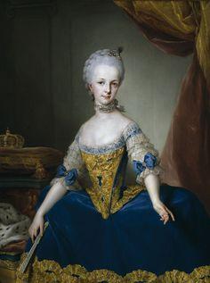 Maria Josepha of Austria - Anton Raphael Mengs - 1767 - Category:Portrait paintings by Anton Raphael Mengs - Wikimedia Commons