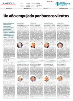 Bartolomé Viudez Zurano de Cajamar en el especial de La Verdad de Murcia Murcia, Blog, Truths, Printing Press, Financial Statement, Blogging
