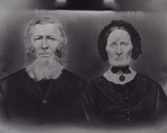William (1808-1876) and Jean (Jane) (Archibald)(1811-1890) Guild. Both are buried in Middle Musquodoboit. This photo c.1860