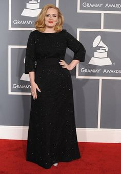 Plus size Armani!? Yes please.  Oh and Adele ROCKS!!!!