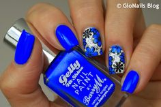 GioNails: [Movember] #1: Flowers with Damson - Barry M