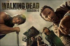 """""""The Walking dead-saison 4""""  Parce que la série a su remettre les zombies au goût du jour. Parce qu'elle est sans pitié avec ses personnages et nous surprend toujours. Parce que cette quatrième saison s'annonce plus viscérale que les précédentes."""