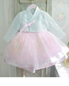 s Clothing Children' Cute Baby Clothes, Diy Clothes, Korea Dress, Dress Anak, Modern Hanbok, Baby Frocks Designs, Frock Design, Lolita Dress, Traditional Outfits