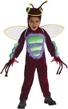 amazoncom childs boys red bug costume sizetoddler 2 4
