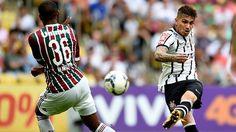 Corinthians vs. Fluminense en vivo con Paolo Guerrero por el Brasileirao.  May 23, 2015.