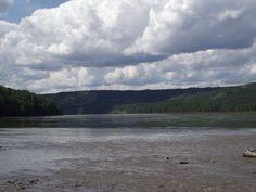 The Mighty Peace River, near Dawson Creek, BC  2011