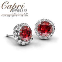 These #Danhov earrings are true beautiful! We're excited to introduce the Abbraccio Fine Jewelry collection! Capri Jewelers Arizona ~ www.caprijewelersaz.com