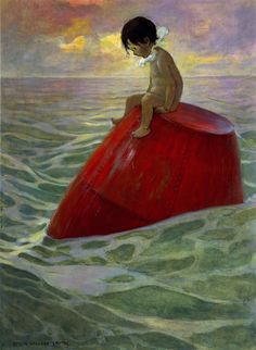 The Water Babies: Tom Sat Upon the Buoy