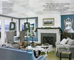 Wall Color: Sea Reflections by Benjamin Moore used this color in LR and DR in Richmond