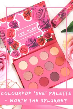 Save or Splurge - Colourpop Fem Rosa 'She' Eyeshadow Palette | Lady Writes