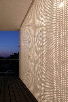 micro-perforated steel T-House|Distance of Fog. Studio Green Blue. - STGO - Estudio arquitectura, web y multimedia | STGO - Estudio arquitectura, web y multimedia