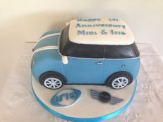 Mini car cake - For Molly's birthday!