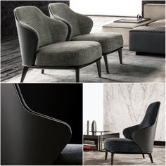 Italian Furniture brands ideas: Minotti introduces LESLIE, a collection for fancy spaces | Milan Design Agenda