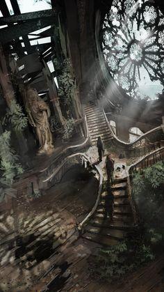 Fantasy Art Engine — Sanctuary by Rashomike