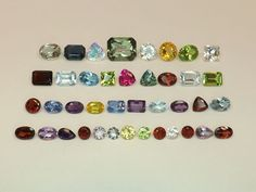 Sale 34.26tcw Mixed Lot Gemstones from scrap gold silver & vintage jewelry