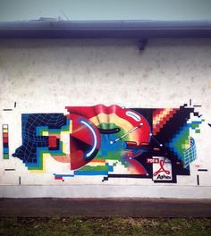 Dope by @fork4_afx (http://ift.tt/16mCd01) #globalstreetart #streetart #graff #walls #murals by globalstreetart