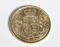 Libra em Ouro c/ Brazão