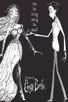 corpse bride, tim burton, and dead image Estilo Tim Burton, Tim Burton Stil, Tim Burton Kunst, Coraline, Tim Burton Corpse Bride, Tim Burton Characters, New Wave, Jack And Sally, Stop Motion