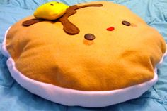 BIG Plush Pancake Pillow 21 Kawaii by SqueezeItPlushies on Etsy, $16.77