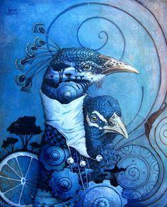 Sophie Wilkins ~ Canadian Magic Realism painter.    Just beautiful!