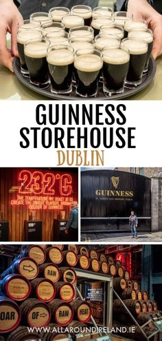 Welcome to the official home of Guinness! Everything you need to know about visiting the Guinness Storehouse at the St James's Gate Brewery. This is one of the top things to do in Dublin. Find out how to make the most of your visitor, save money on ticket Guinness Brewery, Guinness Beef Stew, Alec Guinness, Guinness Cocktail, Guinness Cupcakes, Guinness Cake, Guinness Storehouse Dublin, Dublin Travel, England