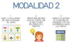 Juego de cartas para contar historias en español - ELE Internacional Word Search, Homeschool, Words, Ideas, Spanish, To Tell, Reading Workshop, Vocabulary, Reading Activities